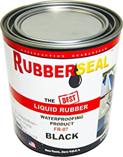 Rubberseal Liquid Rubber Waterproofing and Protective Coating - Roll On (32 oz)
