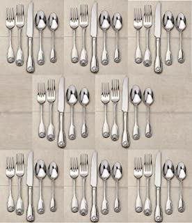 Reed & Barton 18/10 Stainless Colonial Shell II - 40 Piece Set (Service for Eight)