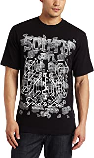 Southpole Mens 3-d Printed Logo T-Shirt Shirt