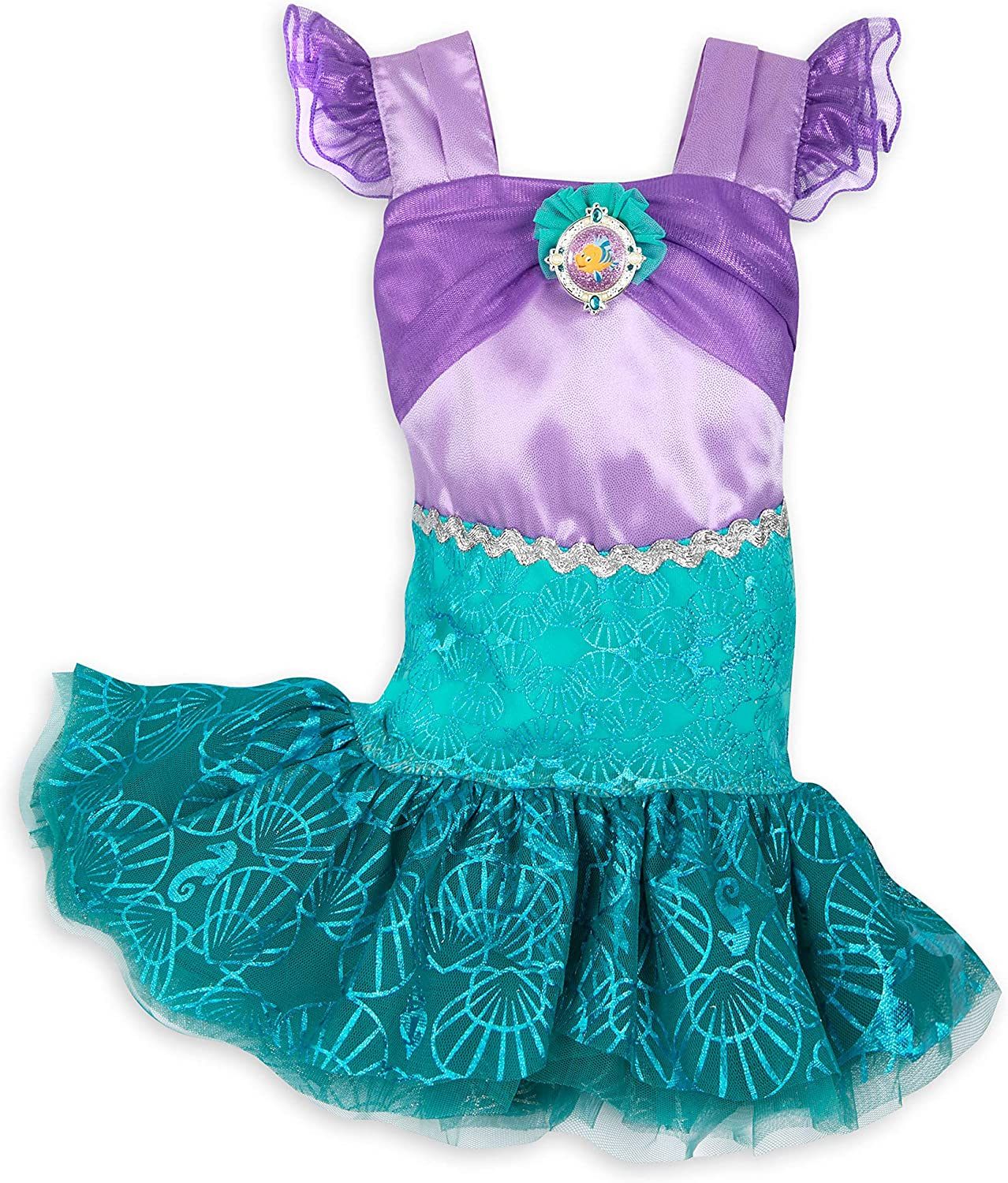 Disney Rapid rise Spring new work one after another Ariel Costume Baby for Multi