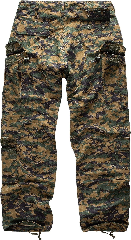 Urbandreamz US ACU Rangerhose Ripstop Loisir Pantalons Camo Camouflage Cargo BDU Pantalon Arm/ée 12 Couleurs