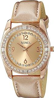 XOXO Women's XO3439 Analog Display Analog Quartz Rose Gold Watch