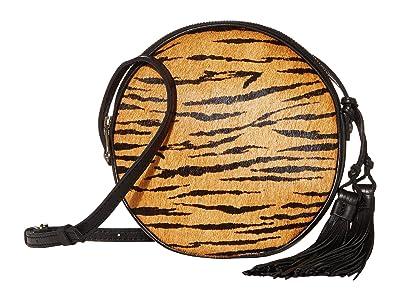 Patricia Nash Scafati Canteen Crossbody (Tiger) Cross Body Handbags