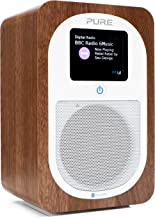Pure Evoke H3 Portable FM/DAB+/DAB Digital Radio - Portable DAB Radio with Bluetooth, Dual Alarms and Full Colour Display,...