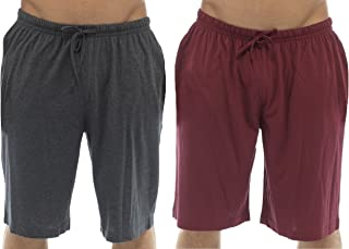 Tom Franks Pack of 2 Cotton Jersey Lounge Shorts - Red - Large