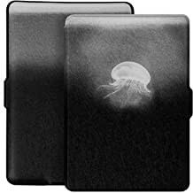 Ayotu Colorful Case for Kindle Paperwhite Auto Wake/Sleep Smart Protective Cover - Fits All Paperwhite Generations Prior to 2018(Not Fit All-New Kindle Paperwhite 10th Gen) 300 PPI,K5-09 Jellyfish