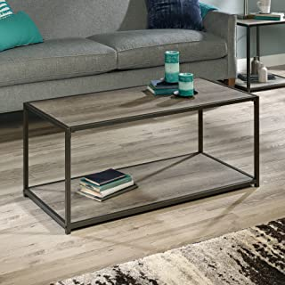 Mainstays Metro Coffee Table Grey Oak (L x W x H) 41.34 x 20.08 x 17.80 Inches