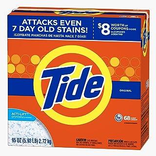 Tide Ultra He Original Scent Powder Laundry Detergent, 68 Loads, 95 oz