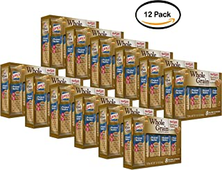 PACK OF 12- Lance Whole Grain Sandwich Crackers, Peanut Butter, 8 CT