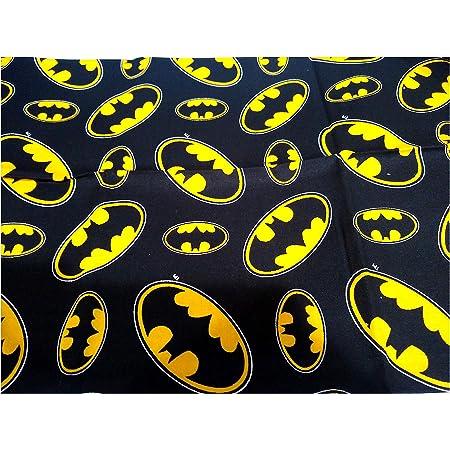 Camelot Fabric DC Comics II Batman in Royal HALF METRE