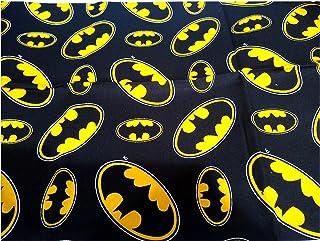 Batman Muslin Baby Cotton Fabric 100/% Cotton Batman Fabric Batman Swaddle Widht 130cm Mask Material
