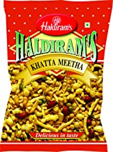 Haldiram Khatta Meetha Sweet and Spicy Snack Mix, 7 Ounce