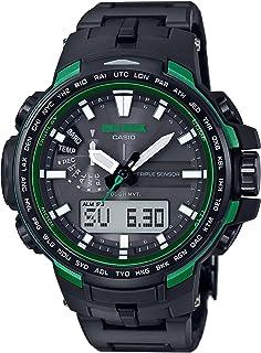 [カシオ] 腕時計 プロトレック 電波ソーラー PRW-6100FC-1JF ブラック