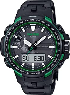 CASIO Men's watches PROTREK Triple Sensor Ver.3 equipped with the world six stations Solar radio PRW-6100FC-1JF
