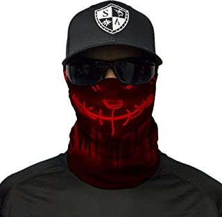 S A - 1 UV Face Shield - - Multipurpose Neck Gaiter, Balaclava, Elastic Face Mask for Men and Women