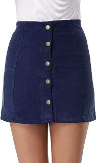 Best navy blue cord mini skirt Reviews