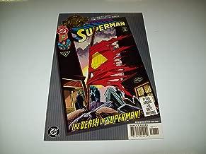 SUPERMAN #75 THE DEATH OF SUPERMAN MILLENNIUM EDITION DC COMIC BOOK 1993