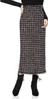 [リリーブラウン] フリンジツィードスカート LWFS214080 レディース