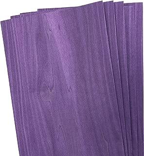 Dyed Purple Veneer, 4 Sq. Ft. Pack