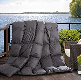 L LOVSOUL Twin Comforter Duvet Insert-Hypoallergenic Plush Fiber Fill,Lightweight Down Alternative Comforter Grey Comforte...
