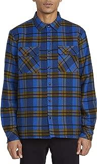 Volcom Men's Long Sleeve Flannel Shirt