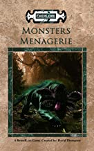 Monsters Menagerie (English Edition)
