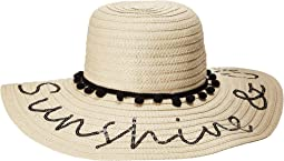 Betsey Johnson - Sunshine & Chill Floppy Hat