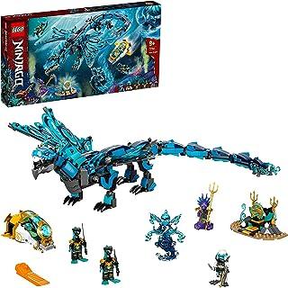 LEGO 71754 NINJAGO Water Dragon Toy, Ninja Building Set for Kids 9 + Years Old with 5 Minifigures