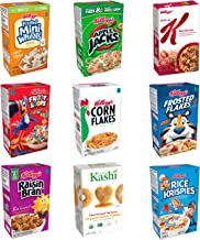 Kellogg's Portable Breakfast Cereal Variety Pack - Assorted Flavors For Everyone from Kids to Grandma, Single Serve Boxes (72 Count)