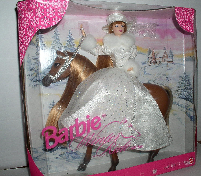 Barbie Winter Ride Gift Set 1998