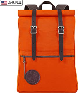 Duluth Pack Scout Rolltop Pack (Orange)