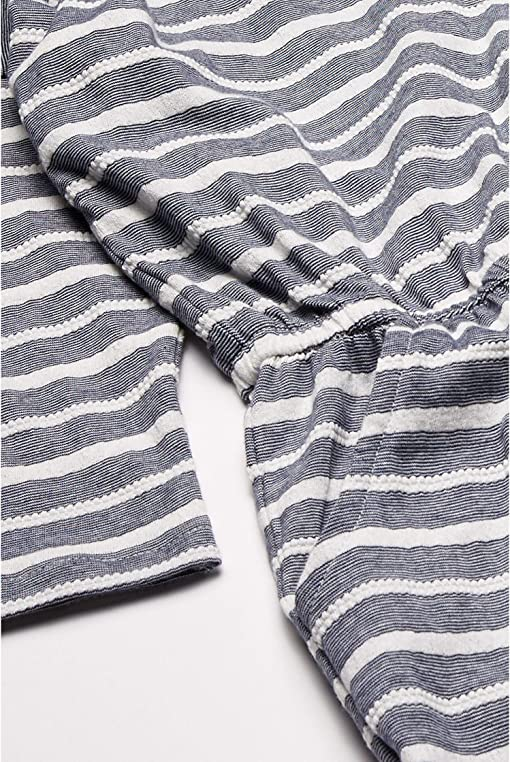 Mood Indigo Jacquard Stripes