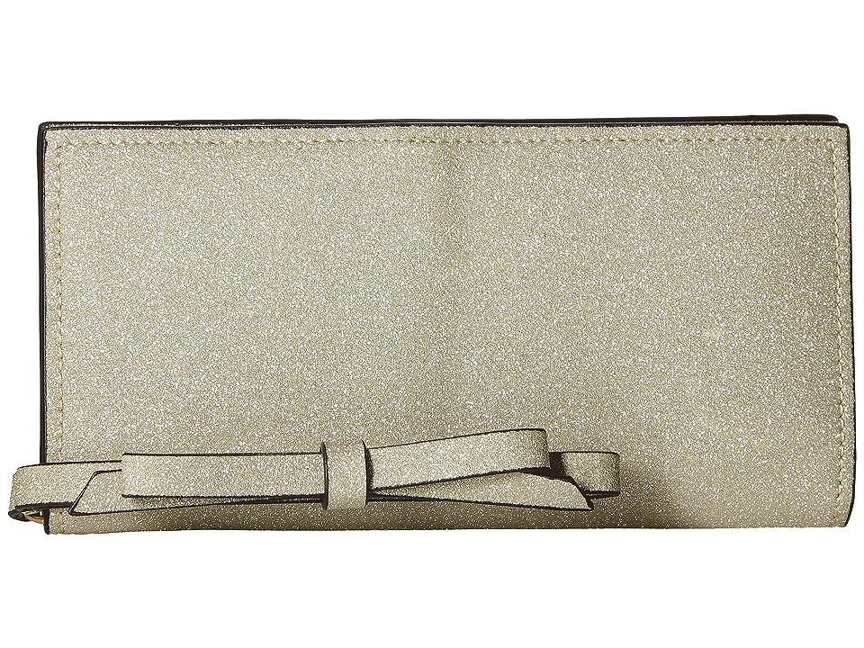 ZAC Zac Posen Earthette Slim Wristlet Wallet (Gold) Wristlet Handbags