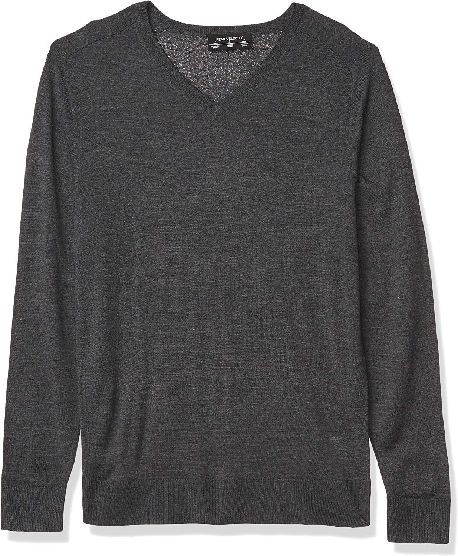pullover-sweaters Hombre Peak Velocity Jersey Merino Cuello Redondo Marca