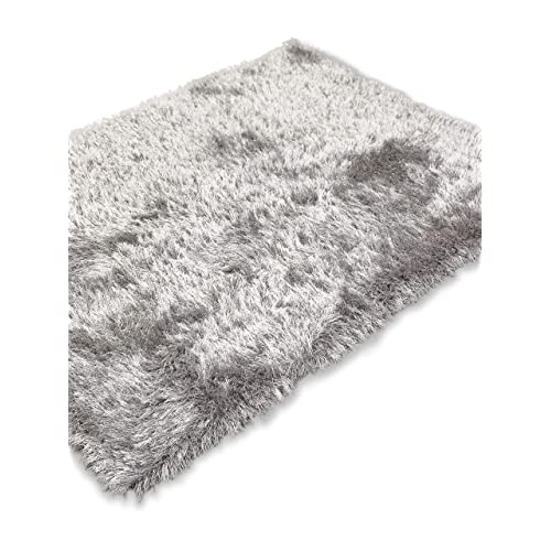 Modern Style Rugs Super Sparkle Tones Plain Thick 7cm Shaggy Luxury Quality Soft Touch Pile (