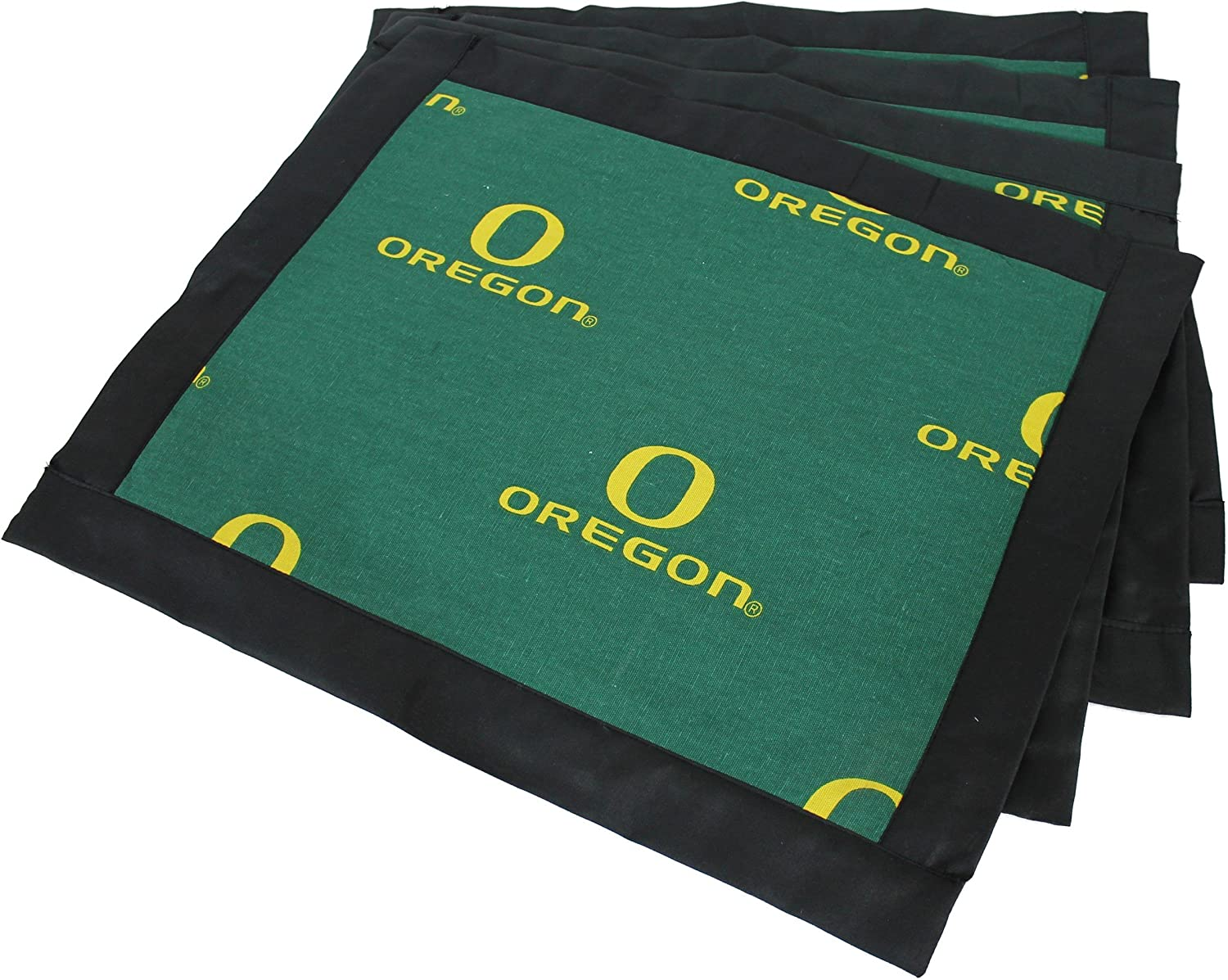 College Covers Oregon Ducks Placemat with Border (Set  of 4)