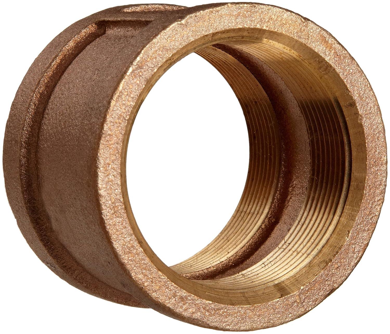 Low price Lead Free Brass Pipe Fitting trend rank Coupling Fema 1 NPT 4