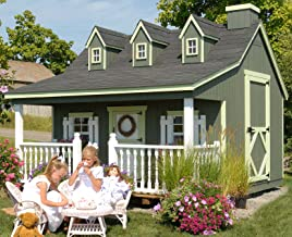 Little Cottage Company Pennfield DIY Playhouse Kit, 11' x 10'