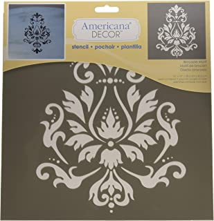 Best raised plaster wall stencils Reviews