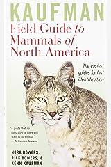 Kaufman Field Guide to Mammals of North America Vinyl Bound