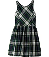 Polo Ralph Lauren Kids - Tartan Fit-and-Flare Dress (Big Kids)
