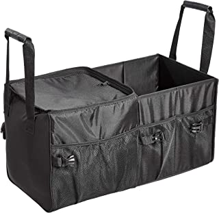 AmazonBasics Car Trunk Organizer with Insulated Cooler Bag