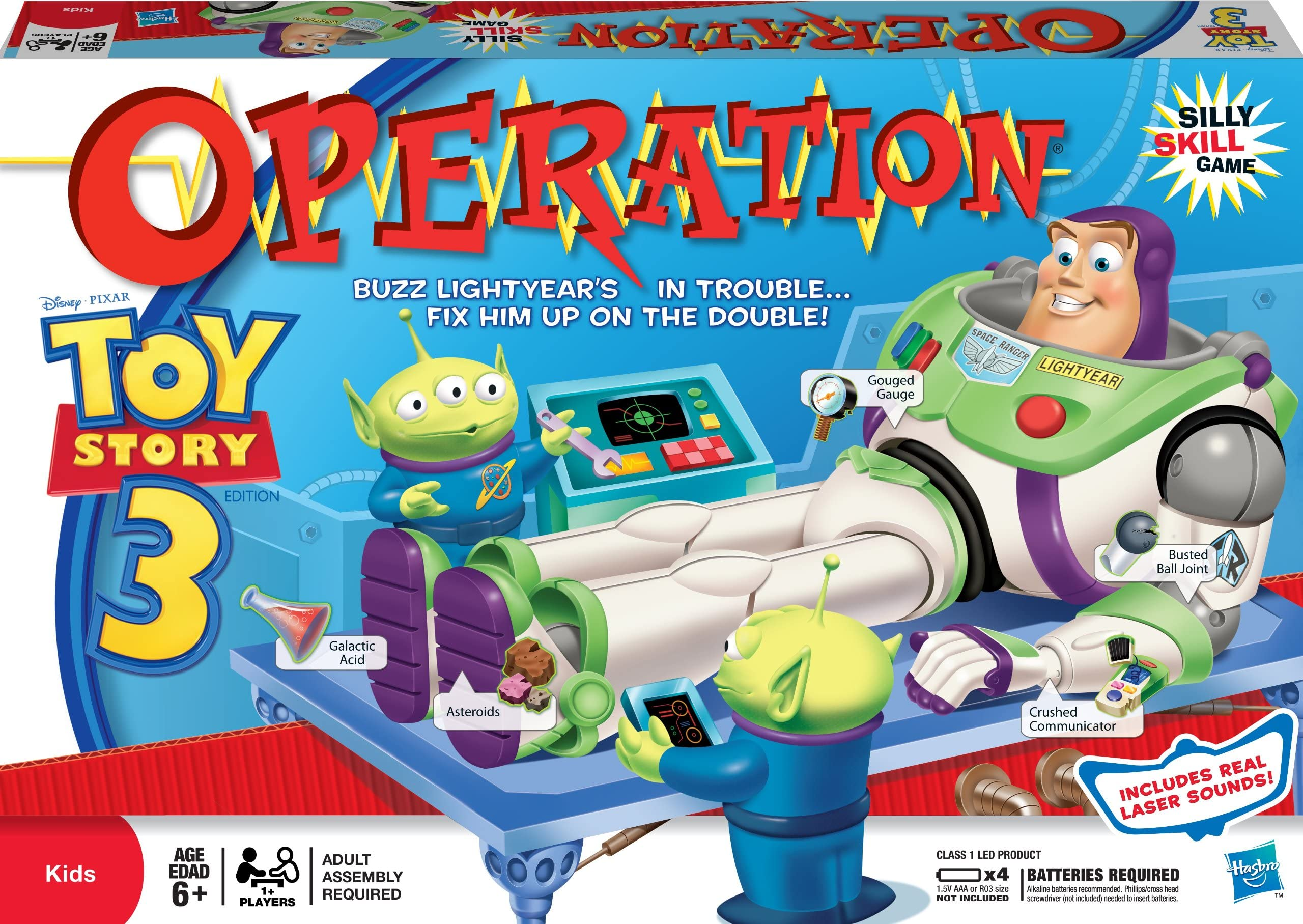Operation Toy Story 3 Parts and Pieces Only You Choose