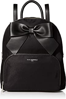 Karl Lagerfeld Paris Kris Nylon Bow Backpack