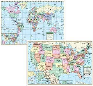 US/World Study Pad Map