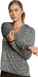 Womens Lightweight Hoodie - Workout Jackets for Women - Dry Fit - Free Towel Included!