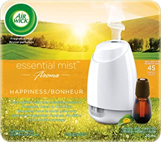 Air Wick Happiness Aroma Essential Mist Diffuser Starter Kit, 1ct