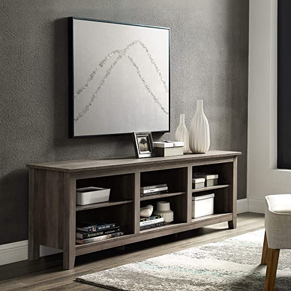 Home Accent Furnishings New 70 Inch Wide Television Stand In Grey Wash Finish