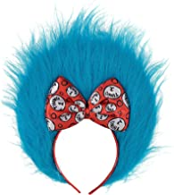 Costumes USA Dr. Seuss Thing 1 and Thing 2 Hair Headband for Kids, Halloween Costume Accessories, One Size