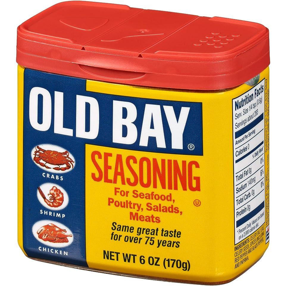失礼なベスト嫌がらせAmerican Old Bay Seasoning: 170g Tub